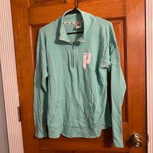 Victoria secret PINK hoodie Seafoam Blue/Green